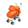 Коляска Liko Baby BT109 City Style, оранжевая, купить за 4 095руб.