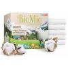 Средство для стирки Стиральный порошок BioMio Bio-White для белого белья с экстрактом хлопка, купить за 415руб.