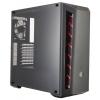 Корпус Cooler Master MasterBox MCB-B510L-KANN-S00 черный, красный, купить за 3 670руб.
