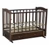 Детская кроватка Ведрусс Радуга-4, орех, купить за 6 095руб.