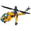 Конструктор LEGO City 60158 Грузовой вертолёт исследователей джунглей, купить за 1 120руб.