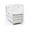 Детская кроватка Fiorellino Crown, маятник продольный, на колесах, белая, купить за 26 950руб.