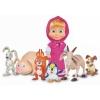 Кукла Simba Маша и медведь Маша с друзьями-животными, купить за 1 270руб.