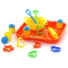 Игрушки для девочек Набор посуды Полесье для выпечки №1 с подносом, купить за 240руб.
