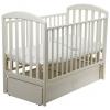 Детская кроватка Papaloni Джованни, слоновая кость, купить за 13 360руб.