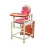 Стульчик для кормления Babys Piggy розовый, купить за 2 820руб.
