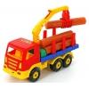 Игрушки для мальчиков Автомобиль-лесовоз Полесье Престиж, купить за 585руб.