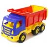 Игрушки для мальчиков Автомобиль-самосвал Полесье Премиум, синий/красный, купить за 1215руб.