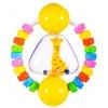 Прорезыватель-погремушка Жирафики Радужный жирафик, купить за 100руб.
