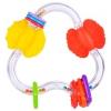 Игрушки для малышей Прорезыватель-погремушка Жирафики Цвет и форма, купить за 215руб.