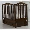Детская кроватка Гандылян Людмила (с маятником), махагон, купить за 12 758руб.