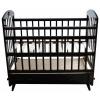 Детская кроватка Briciola 8, темная, купить за 8 310руб.