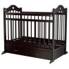 Детская кроватка Briciola 12, темная, купить за 8 595руб.