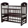 Детская кроватка Briciola 2, темная, купить за 8 450руб.