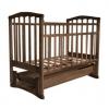 Детская кроватка Агат Золушка-6, орех, купить за 3 625руб.