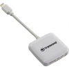 Устройство для чтения карт памяти Transcend TS-RDA2W белый, купить за 1 985руб.