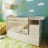 Детская кроватка Valle Alisa (трансформер), слоновая кость, купить за 11 715руб.