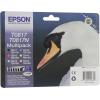 Картридж Epson T0817 (комплект цветных картриджей, 6 цветов по 11.1 мл), купить за 4 760руб.