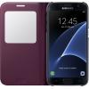Samsung для Samsung Galaxy S7 S View Cover, бордовый, купить за 4 290руб.