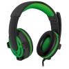 Гарнитура для пк Defender Warhead G-300, зеленая, купить за 900руб.