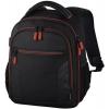 Сумку для видеокамеры Рюкзак для зеркальной фотокамеры Hama Miami 150, черный/красный, купить за 2670руб.