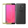 Защитное стекло для смартфона Redline Samsung Galaxy J8 (2018) tempered glass, золотистое, купить за 590руб.