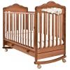 Детская кроватка Angela Bella Изабель (качалка), вишня, купить за 16 223руб.