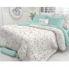 Комплект постельного белья Verossa перкаль, 2,0-спальный,  нав. 70х70*2, Wildflowers, купить за 2 510руб.