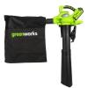 Воздуходувка Greenworks GD40BV (аккумуляторная, без ЗУ и аккумулятора), купить за 7 755руб.