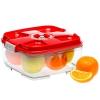 Контейнер для хранения STATUS VAC-SQ-20 для вакуумного упаковщика, красный, купить за 845руб.