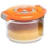 Контейнер для хранения STATUS VAC-RD-075, оранжевый, купить за 685руб.