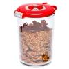 Контейнер для хранения STATUS VAC-RD-15 для вакуумного упаковщика, красный, купить за 845руб.