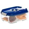 Контейнер для хранения STATUS VAC-REC-14 для вакуумного упаковщика, синий, купить за 845руб.