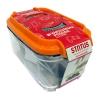 Контейнер для хранения STATUS VAC-REC-05 для вакуумного упаковщика, оранжевый, купить за 685руб.