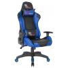 Игровое компьютерное кресло College XH-8062LX, черный/синий, купить за 9 930руб.