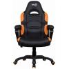 Игровое компьютерное кресло Aerocool AC80C AIR-BO, черно-оранжевое, купить за 8 650руб.
