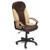 Компьютерное кресло TetChair Твистер, коричневое/бежевое, купить за 6 390руб.