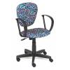 Компьютерное кресло TetChair CH 413 Карандаши на синем, купить за 3 685руб.