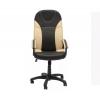 Компьютерное кресло TetChair Twister кож/зам, black/beige, купить за 6 890руб.