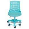 Компьютерное кресло TetChair Kiddy (детское), бирюзовое, купить за 3 880руб.