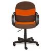Кресло офисное TetChair BAGGI, коричнево-оранжевое, купить за 3 590руб.