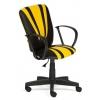 Компьютерное кресло TetChair SPECTRUM кож/зам, 36-6/36-14, черный/жёлтый, купить за 3 290руб.