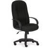 Кресло офисное TetChair СН833 кож/зам, 36-6, черное, купить за 6 490руб.