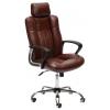 Кресло офисное TetChair OXFORD, коричневый 2 TONE/коричневый перфорированный 2 TONE, купить за 9 520руб.