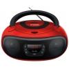 Магнитола Hyundai H-PCD280, красная/черная, купить за 2 700руб.