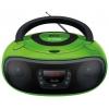Магнитола Hyundai H-PCD260, зеленая/черная, купить за 2 700руб.