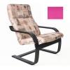 Кресло мягкое Мебель Импэкс Сайма венге, Berry (для отдыха), купить за 7 640руб.