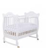 Детская кроватка Papaloni Finestra 120х60 (качалка), белая, купить за 15 600руб.