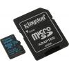 Карту памяти Kingston SDCG2/128Gb (с адаптером), купить за 2435руб.