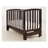 Детская кроватка Angela Bella Бьянка (маятник), махагон, купить за 8 820руб.